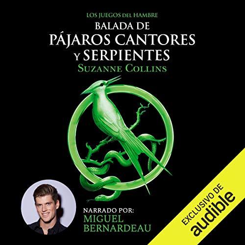 Audiolibro Pajaros cantores y serpientes